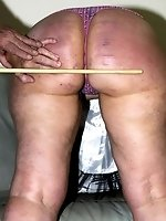 sandy caned hard...