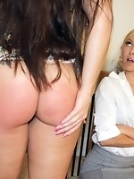 Madison Spanked by...