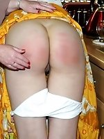 caned at the house...