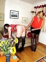 a terrible caning...