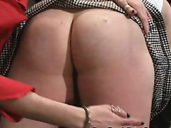 Red Curvy Ass